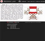 Website design for Bianca Bezdek attorney at law.