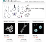 Jewelry database driven website design with aSP.NET, SQL, and aJaX Pro for SilverJewelry.com