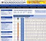 Sound Effects Downloads Website