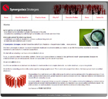 Website design for Synergisticsstrategies.com using HTML and CSS 100% W3C Compliant.