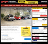 Custom Web Design and Graphics for Pasadena's largerst Auto Body Shop